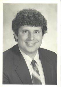 Carl Traina in 1980