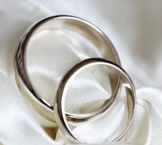 A set of wedding rings